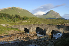 Sligachan Old Bridge Stock Images