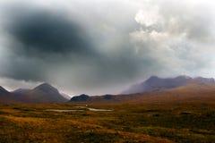 Sligachan, Skye, Ecosse photographie stock libre de droits