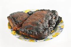 Slightly burned pie Royalty Free Stock Photography
