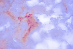 Slighty blurred lightened slices marble Royalty Free Stock Photo