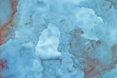 Slighty blurred lightened slices marble Royalty Free Stock Images
