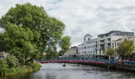 Sligo Village. The bridge of the village of Sligo, County if Sligo Ireland Royalty Free Stock Photo