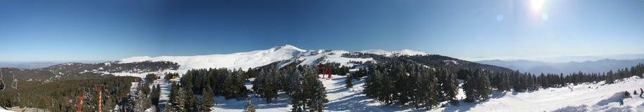 Slijmbeurs Panoramische Uludag Stock Afbeeldingen