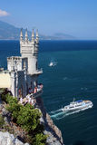 Slikten Nest, de Krim, de Oekraïne Royalty-vrije Stock Afbeelding