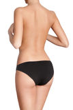 Slim body. Isolated, white background Stock Photo