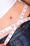 Slim body - losing weight series Royalty Free Stock Photos