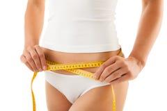Slim body Stock Photo