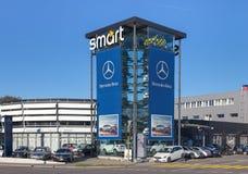 Slim Centrum Zürich in Wallisellen Stock Afbeeldingen