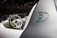 Slim Concept Forspeed - de Show van de Motor van Genève 2011 Royalty-vrije Stock Foto
