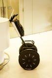 Slim elektrisch de raadswiel van het autopedsaldo voor veiligheidsagent ons Stock Foto