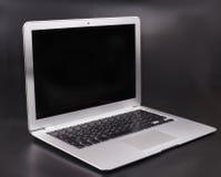 Slank bärbar dator Royaltyfri Fotografi