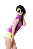 Slim fashion model body Stock Photos