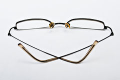 Slim Fashionable Eyeglasses Royalty Free Stock Photo