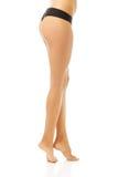 Slim female body in lingerie Royalty Free Stock Photo