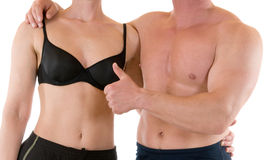 Slim and fit Stock Images