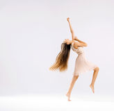 Slim and fit ballet dancer Royalty Free Stock Image