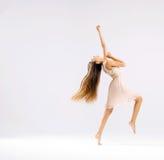 Slim and fit ballet dancer. Slim and talented ballet dancer royalty free stock image