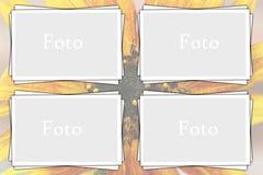Slim fotoframe Stock Foto