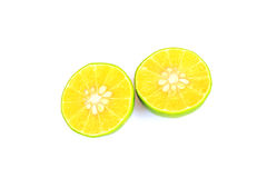 Slim fresh lime Royalty Free Stock Image