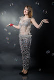 Slim girl Royalty Free Stock Photography