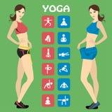 Slim Girl , vector illustration Stock Image