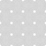 Slim gray checkered wavy rectangles Stock Image
