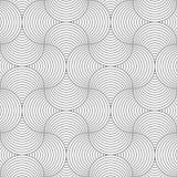 Slim gray circle striped pin will Stock Photo