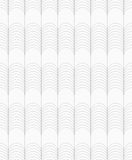 Slim gray circles forming ridges Royalty Free Stock Image