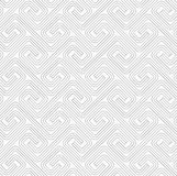 Slim gray countered fastened square spirals Stock Image
