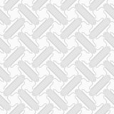 Slim gray countered T shapes with offset Stock Photography