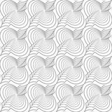 Slim gray diagonal Marrakesh with twist and offset Stock Images