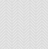 Slim gray dotted chevron Royalty Free Stock Image