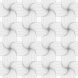 Slim gray hatched four foil grid Stock Image