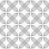 Slim gray hatched rectangles reticulated Royalty Free Stock Photography