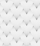 Slim gray hatched triangular shapes Royalty Free Stock Photography