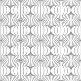 Slim gray hatched uneven grid Stock Photos
