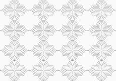 Slim gray horizontal Marrakesh Stock Photos