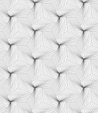 Slim gray linear stripes forming pyramids Royalty Free Stock Image