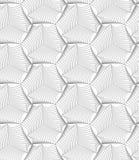 Slim gray sea shells Stock Image