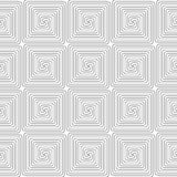 Slim gray square spirals Royalty Free Stock Photography