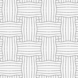 Slim gray striped rectangle pin will Royalty Free Stock Photography