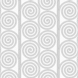 Slim gray striped spirals forming tree Stock Image