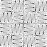Slim gray striped squares in grid Royalty Free Stock Photos