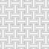 Slim gray striped T shapes with corners Royalty Free Stock Photos
