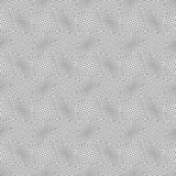 Slim gray stripes circles on striped triangles Stock Image