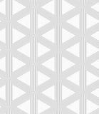 Slim gray triangle grid Stock Photos
