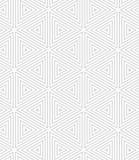 Slim gray triangles Royalty Free Stock Image