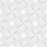 Slim gray twisted shapes in turn Stock Photography