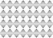 Slim gray vertical Chinese lanterns grid Royalty Free Stock Photo