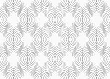 Slim gray vertical Marrakesh grid Royalty Free Stock Images